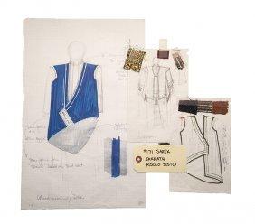 Star Trek: Tng Original Sarek Robe Concept Artwork