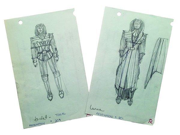 "Star Trek: TNG  Original ""Redemption"" Concept Artwork"