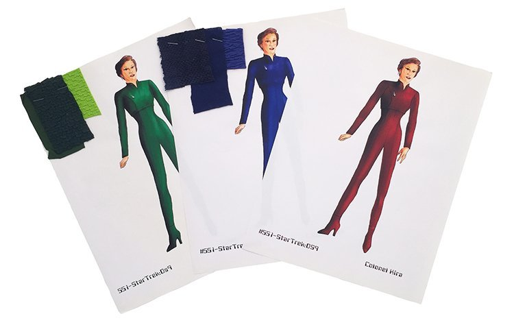 Star Trek: DS9 Colonel Kira Concept Illustrations