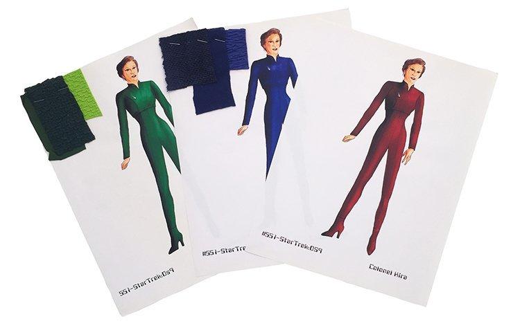 Star Trek: DS9 Colonel Kira Concept Illustrations