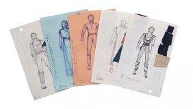 Star Trek: Ds9 Jadzia Dax Concept Artwork Collection