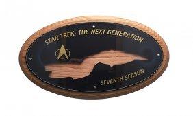 Star Trek: Tng Seventh Season Crew Plaque