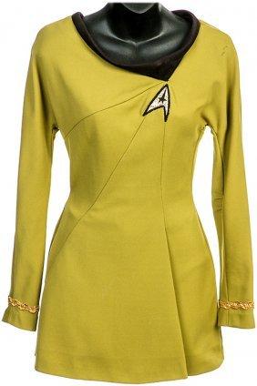 Star Trek: Phase II Iliia Green Starfleet Mini Dress