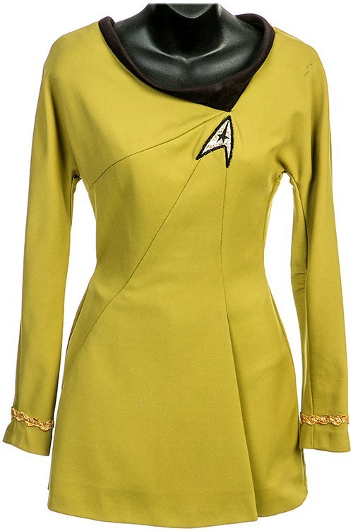 Star Trek: Phase II Iliia Green Starfleet Mini Dress