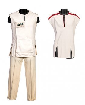 Star Trek: The Wrath of Khan Regula One Science Outfit