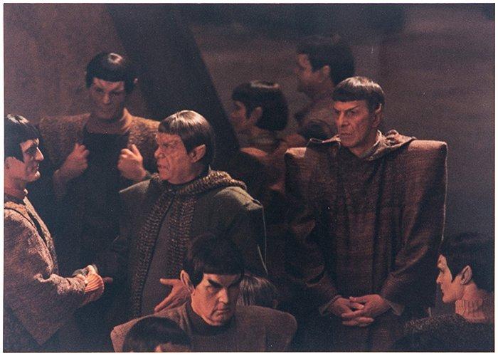 "Star Trek: The Next Generation ""Unification"" Photograph"