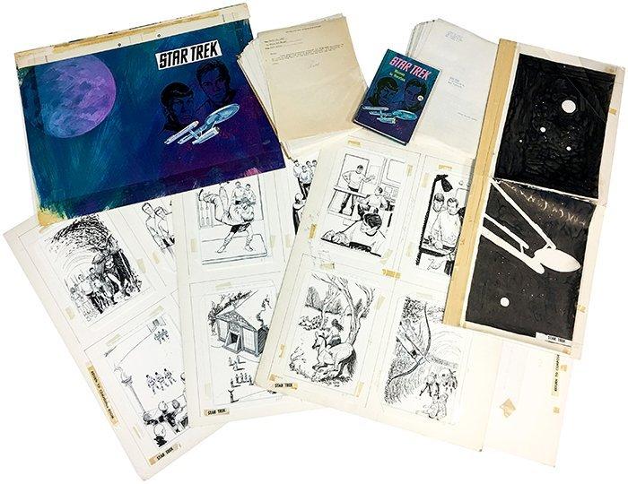 Star Trek: Mission to Horatius Orig. Artwork/ Manuscrip