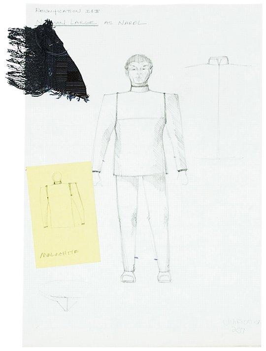 "Star Trek: TNG Narel ""Unification"" Concept Artwork"