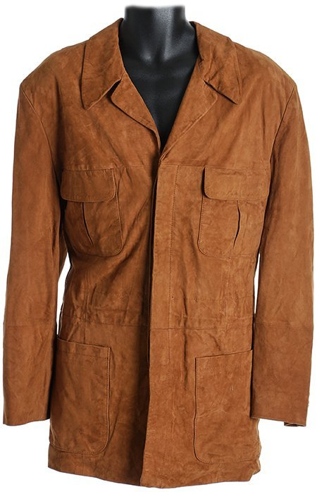 Warehouse 13 Artie's Brown Suede Jacket from Fractures