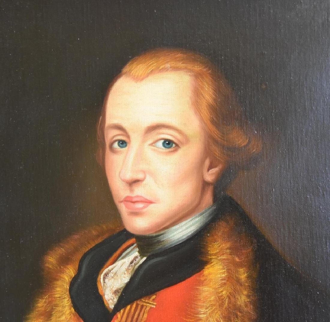 R. Parkison Portrait in Ornate Frame - 3