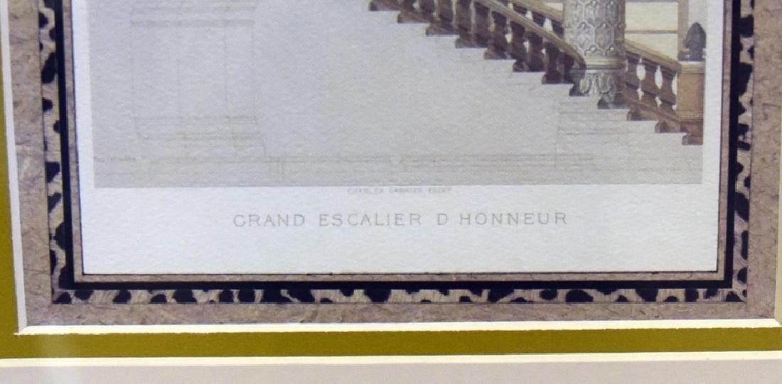 3 Gold Framed Le Nouvel Opera Prints - 9