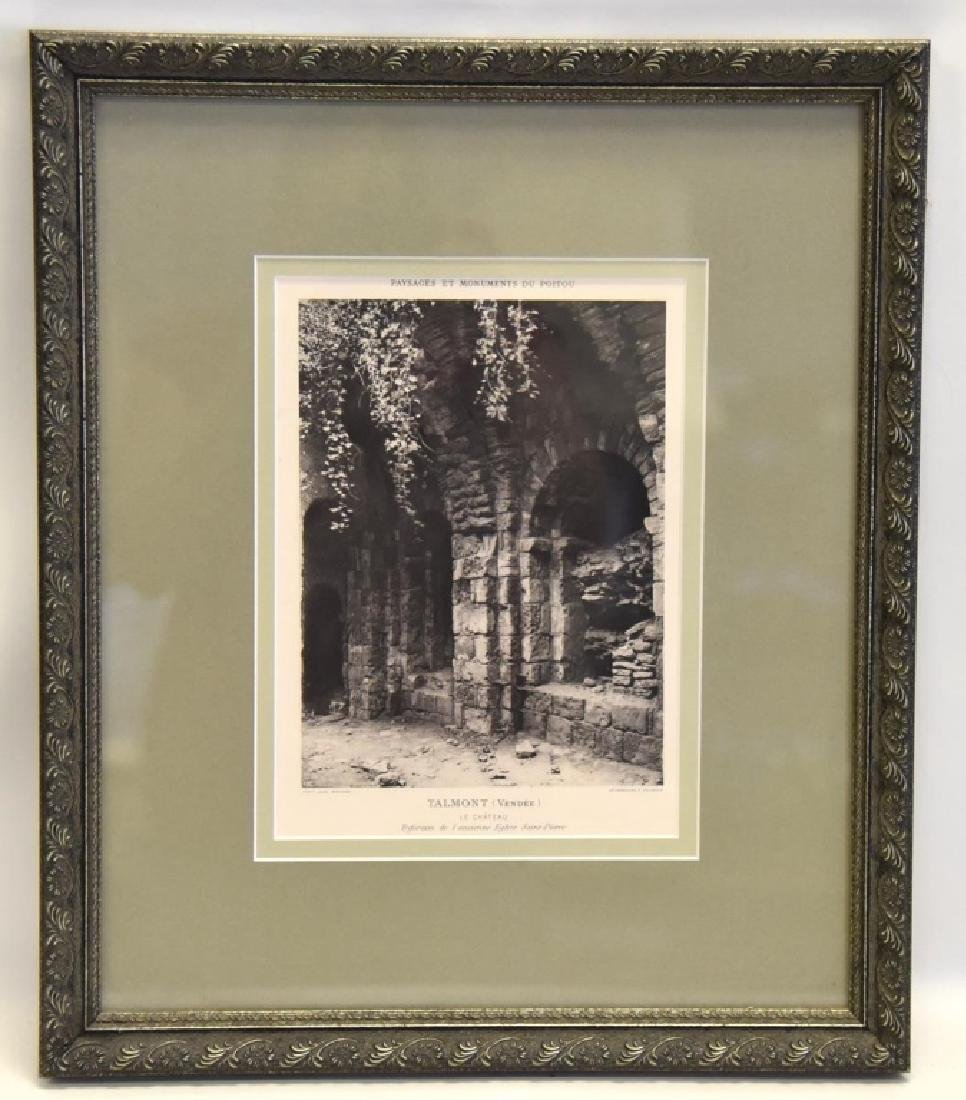 Framed Talmont (Vendee) Le Chateau