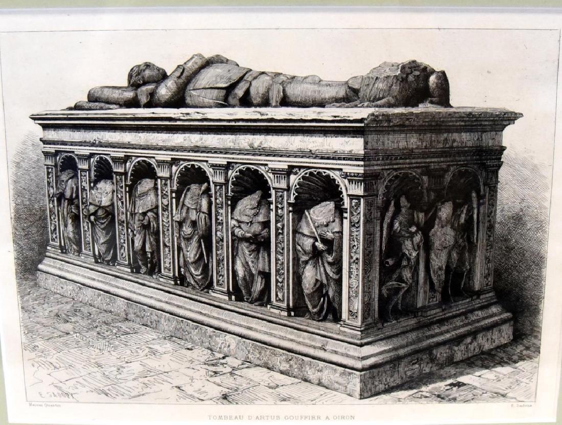 E. Sadoux's Tombeau D'Artus Gouffier A Oiron - 2