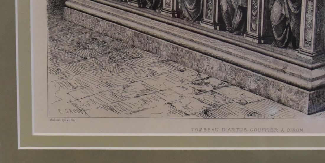 E. Sadoux's Tombeau D'Artus Gouffier A Oiron - 3