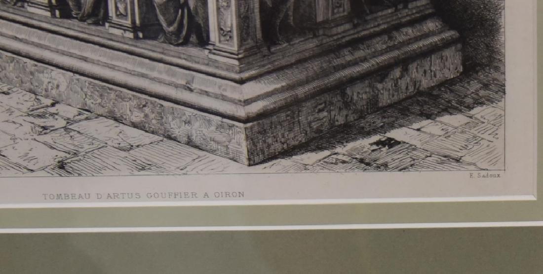 E. Sadoux's Tombeau D'Artus Gouffier A Oiron - 4
