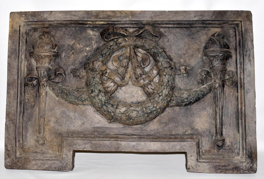 Classical Architectural Art w/Wreath