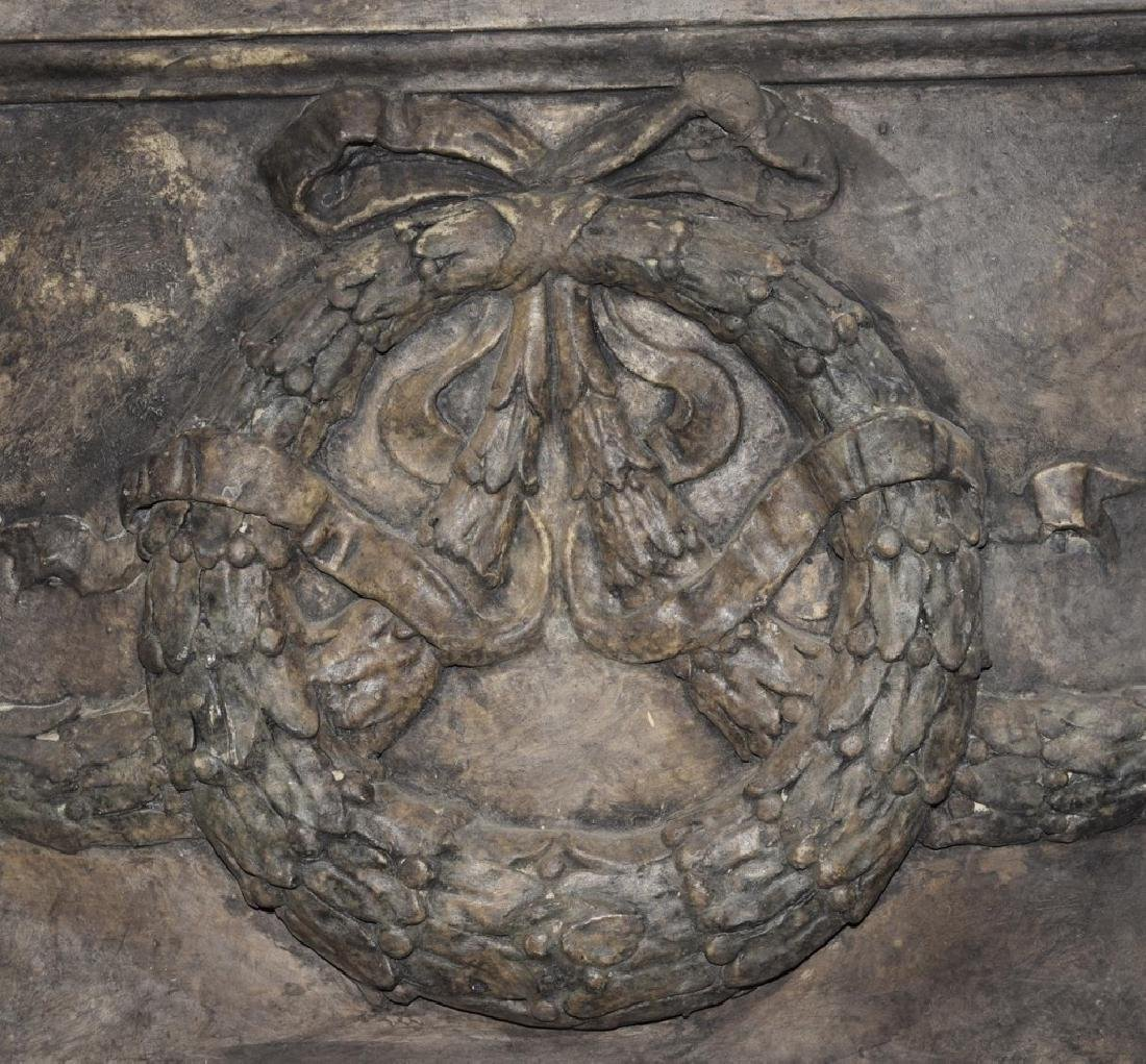 Classical Architectural Art w/Wreath - 3