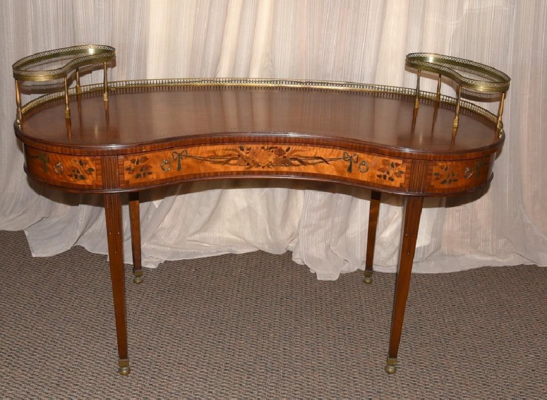 French Style Kidney Desk