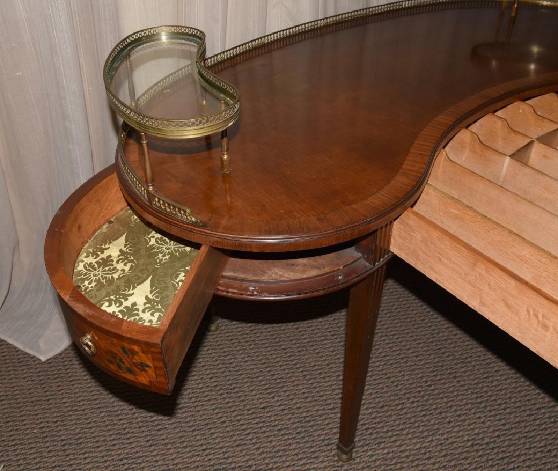 French Style Kidney Desk - 2
