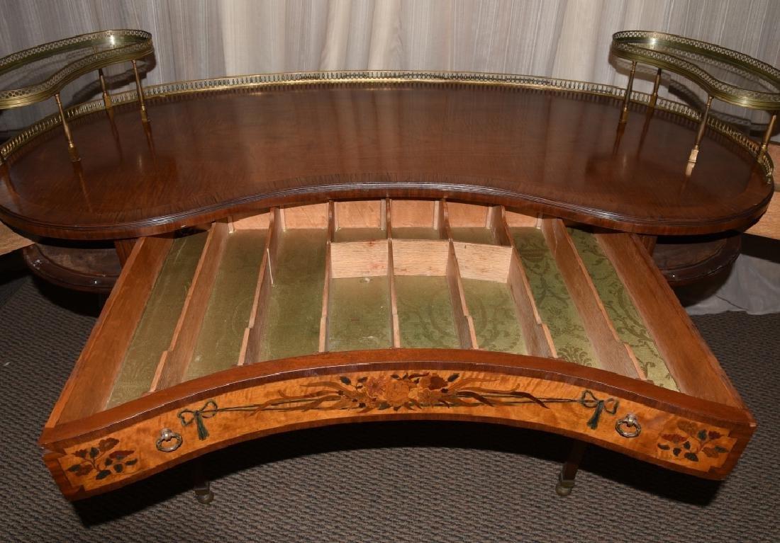 French Style Kidney Desk - 3
