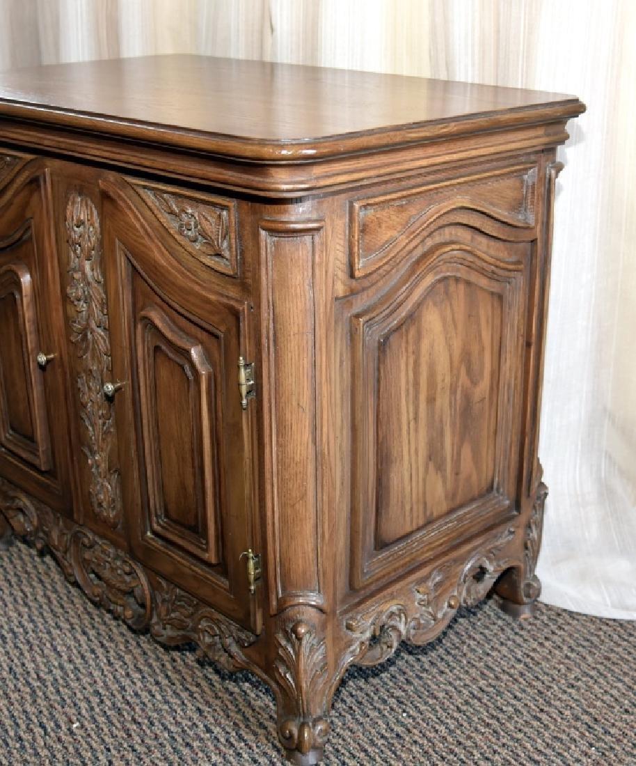2-Door Cabinet w/Composite Decoration - 3