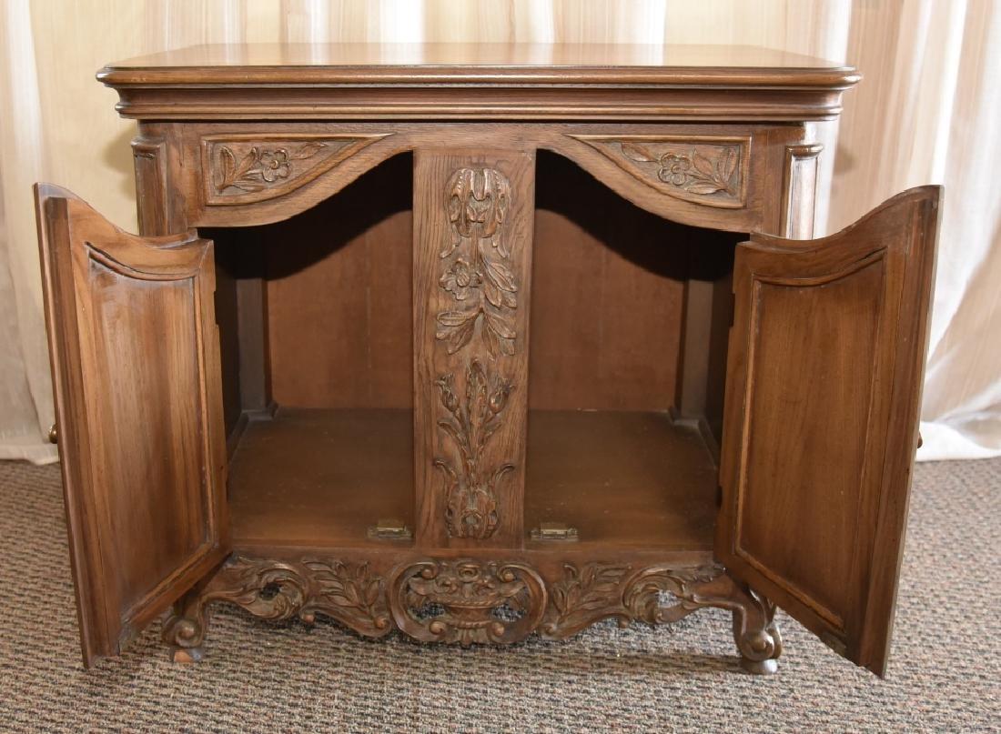 2-Door Cabinet w/Composite Decoration - 4