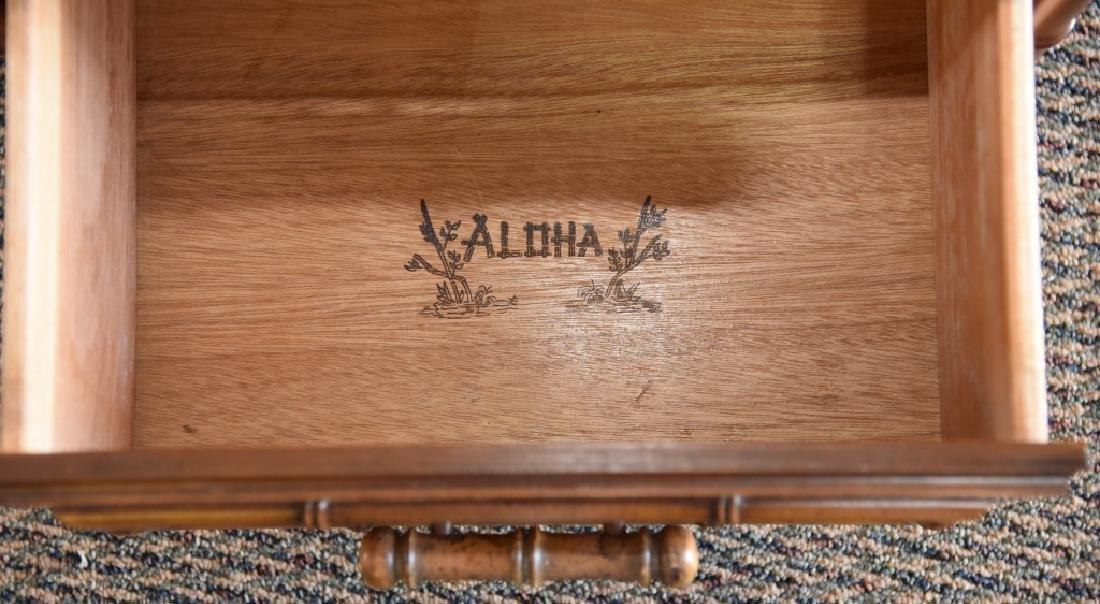 Bamboo Design 3-Drawer Cabinet - 4