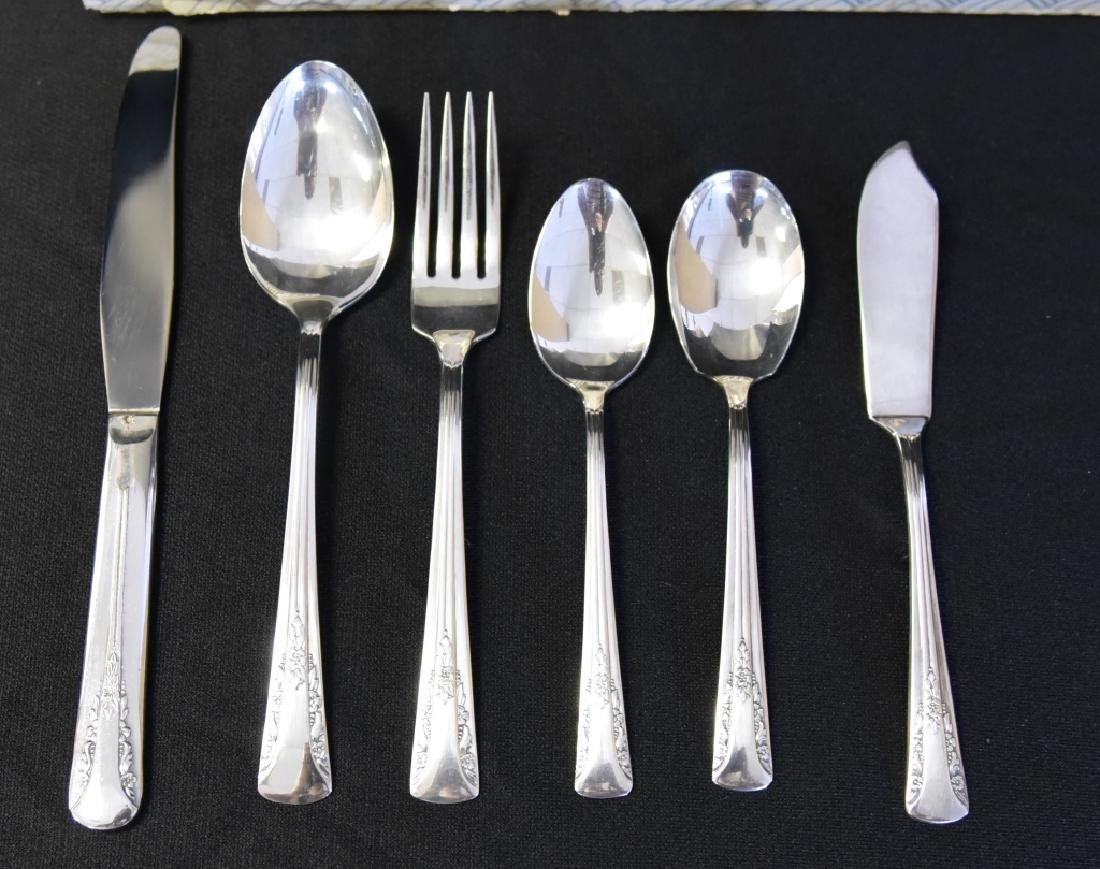 50 Pieces Camelia Silverplate by International - 3
