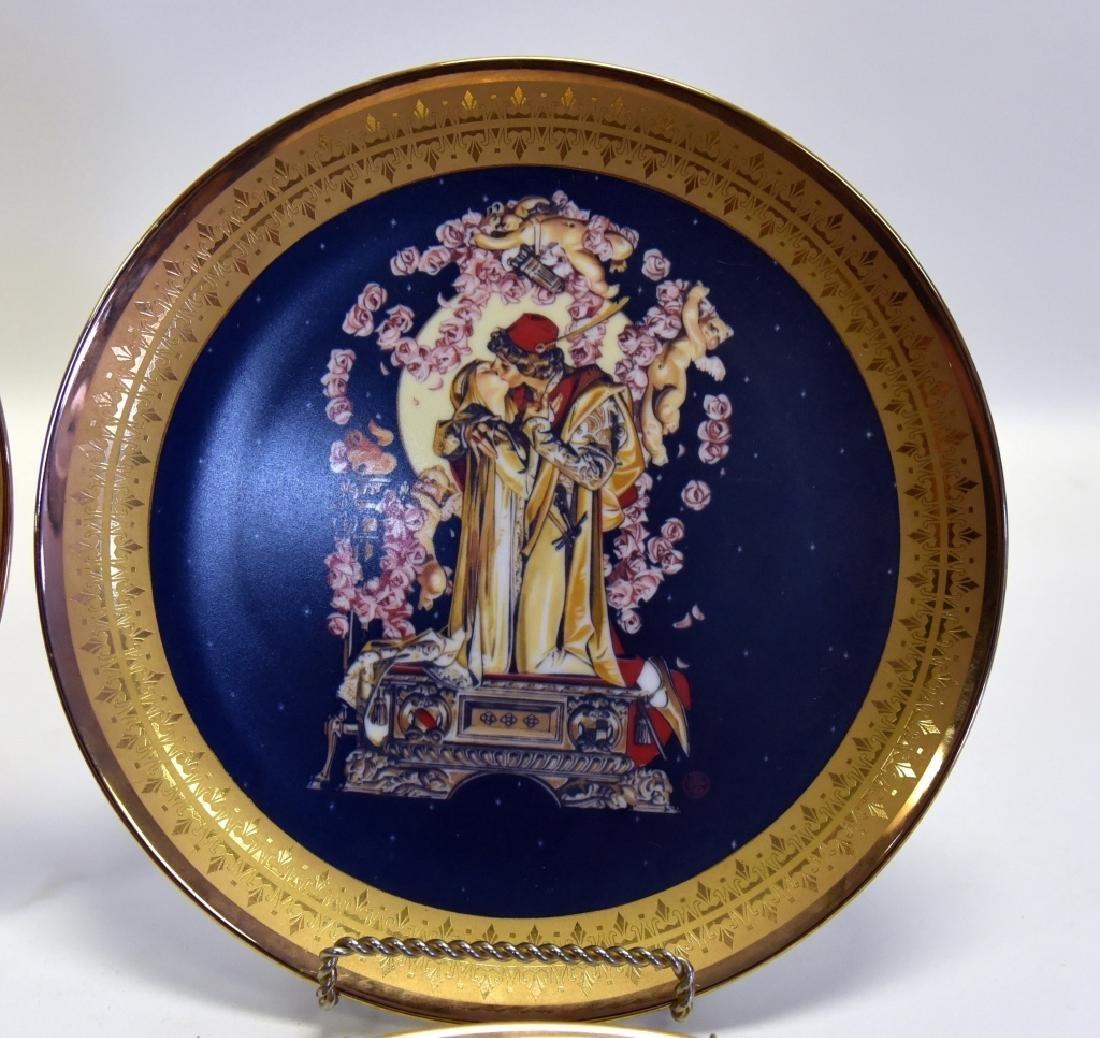 Ltd. Ed. Royal Cornwall Classic Collection Plates - 2