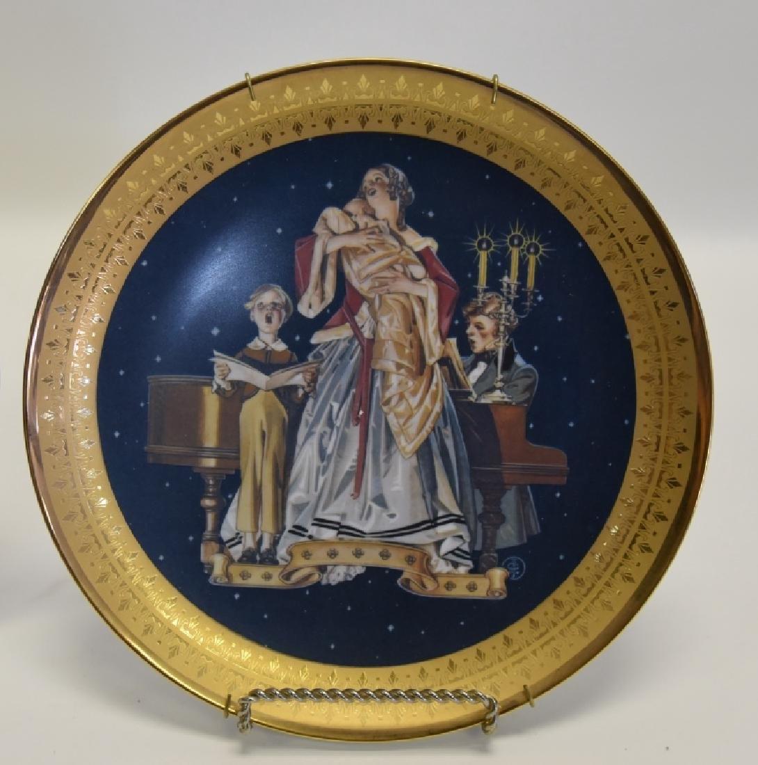 Ltd. Ed. Royal Cornwall Classic Collection Plates - 4