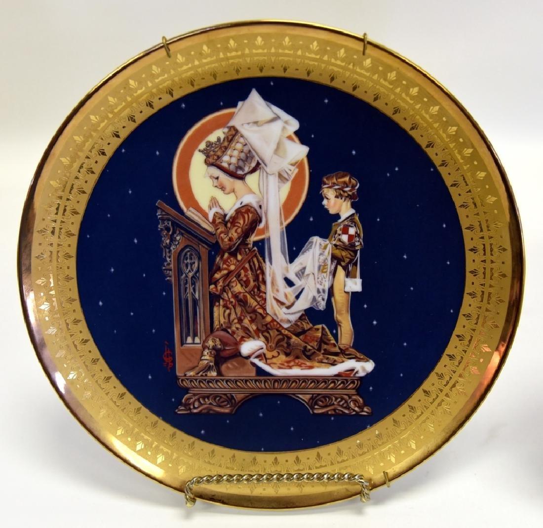 Ltd. Ed. Royal Cornwall Classic Collection Plates - 5