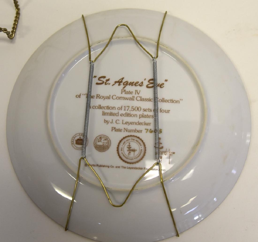 Ltd. Ed. Royal Cornwall Classic Collection Plates - 8