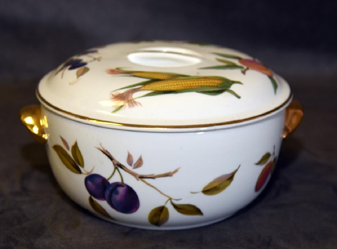 Royal Worcester Evesham Covered Casserole