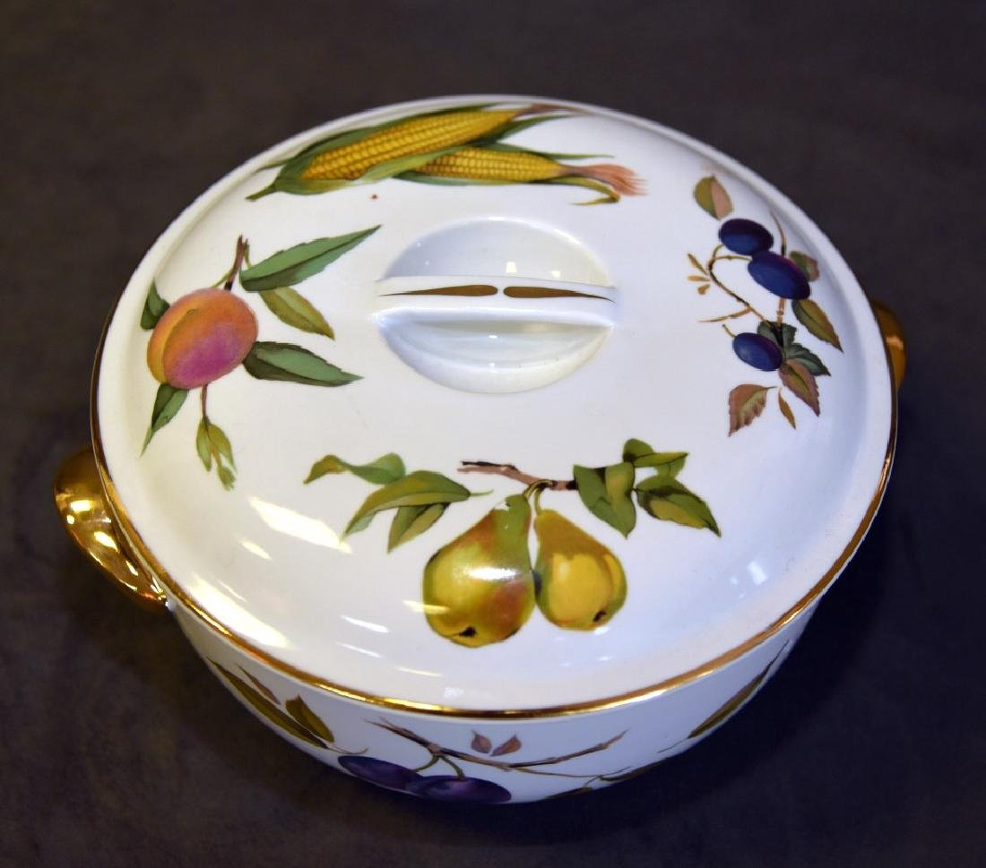 Royal Worcester Evesham Covered Casserole - 2