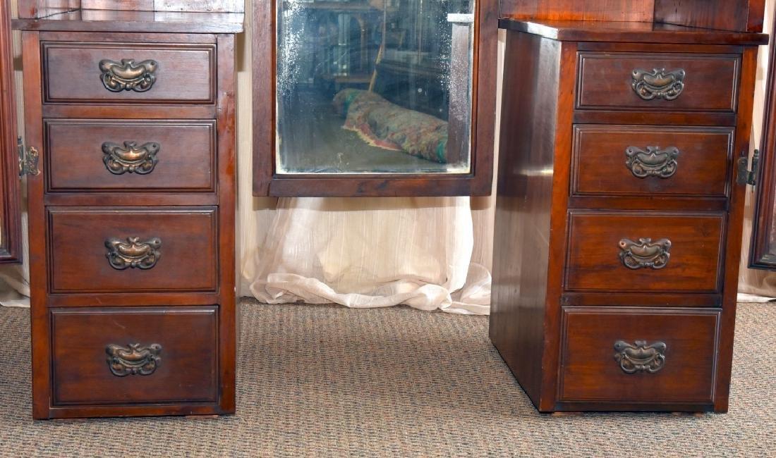 Victorian/Edwardian Dressing Chest & Mirrors - 2