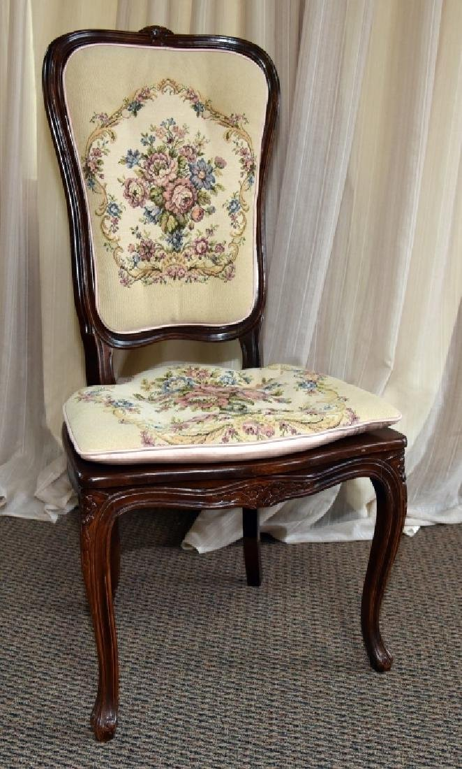 Vintage French Style Cane Side Chair