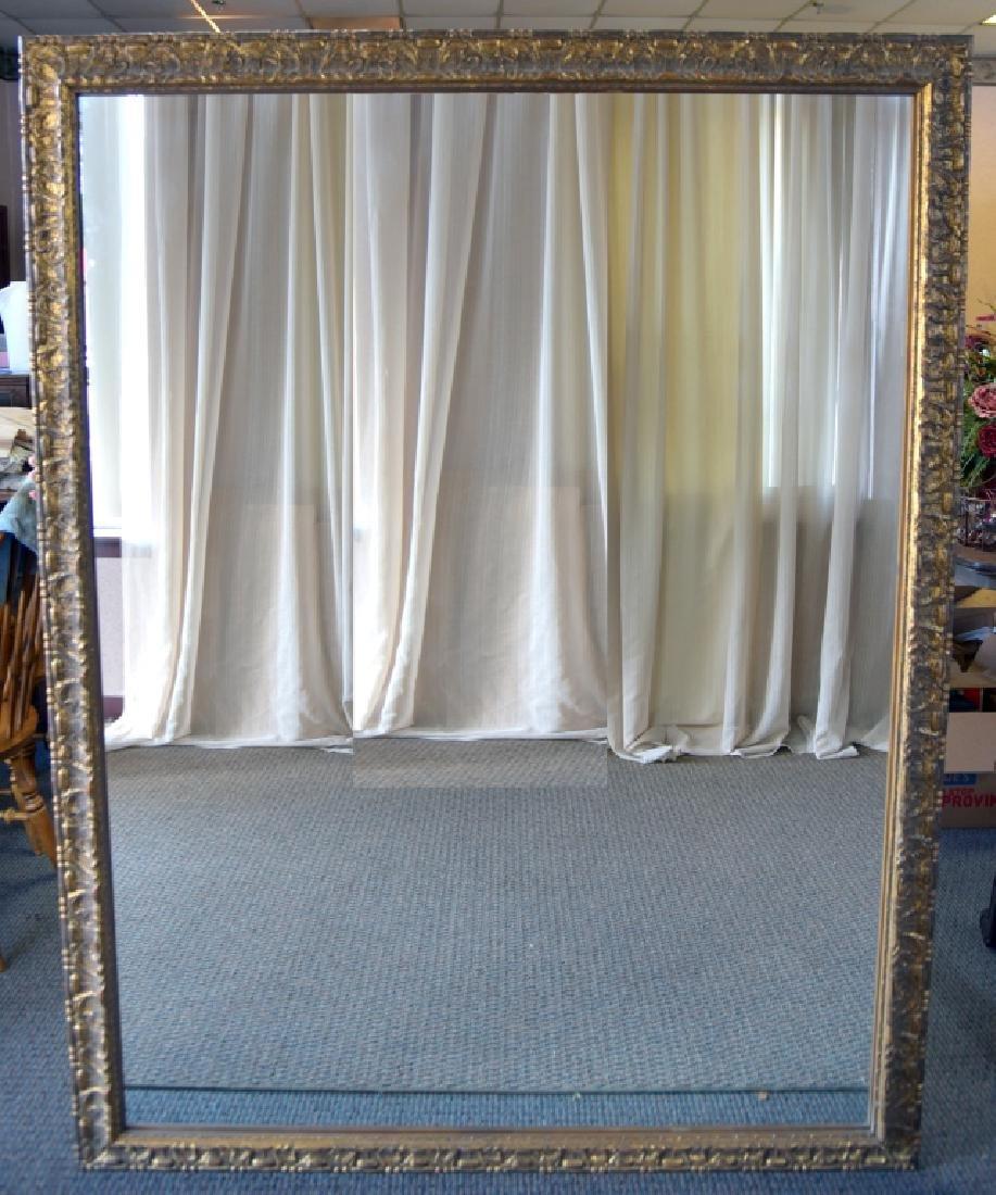 Large Vintage Framed Wall Mirror