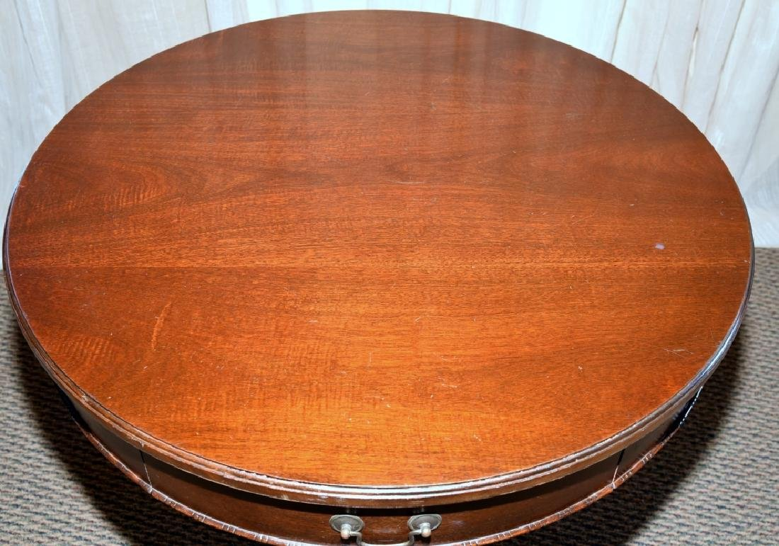 Vintage Drum Table - 3
