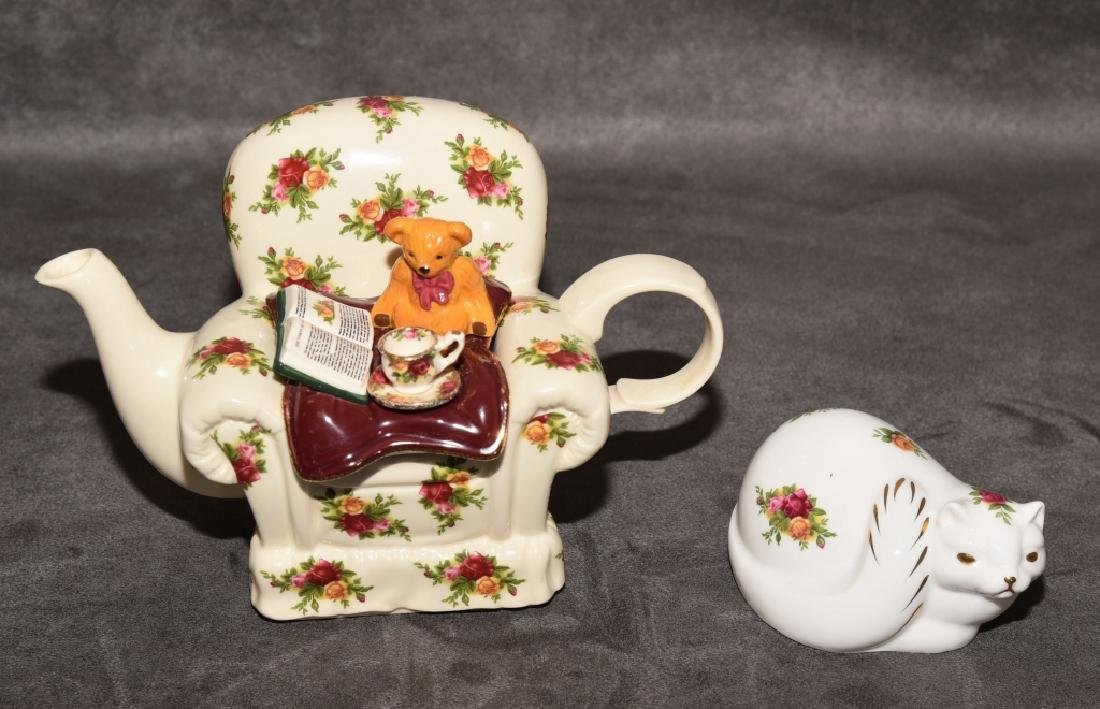 Royal Albert Old Country Roses Miniature Teapot