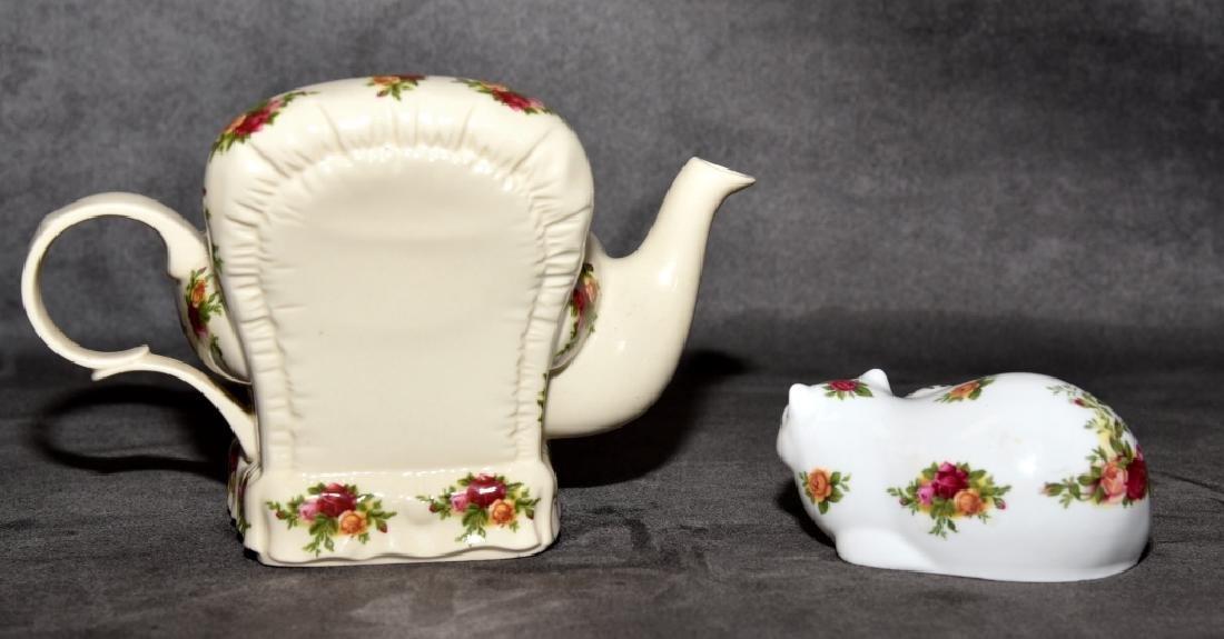 Royal Albert Old Country Roses Miniature Teapot - 2