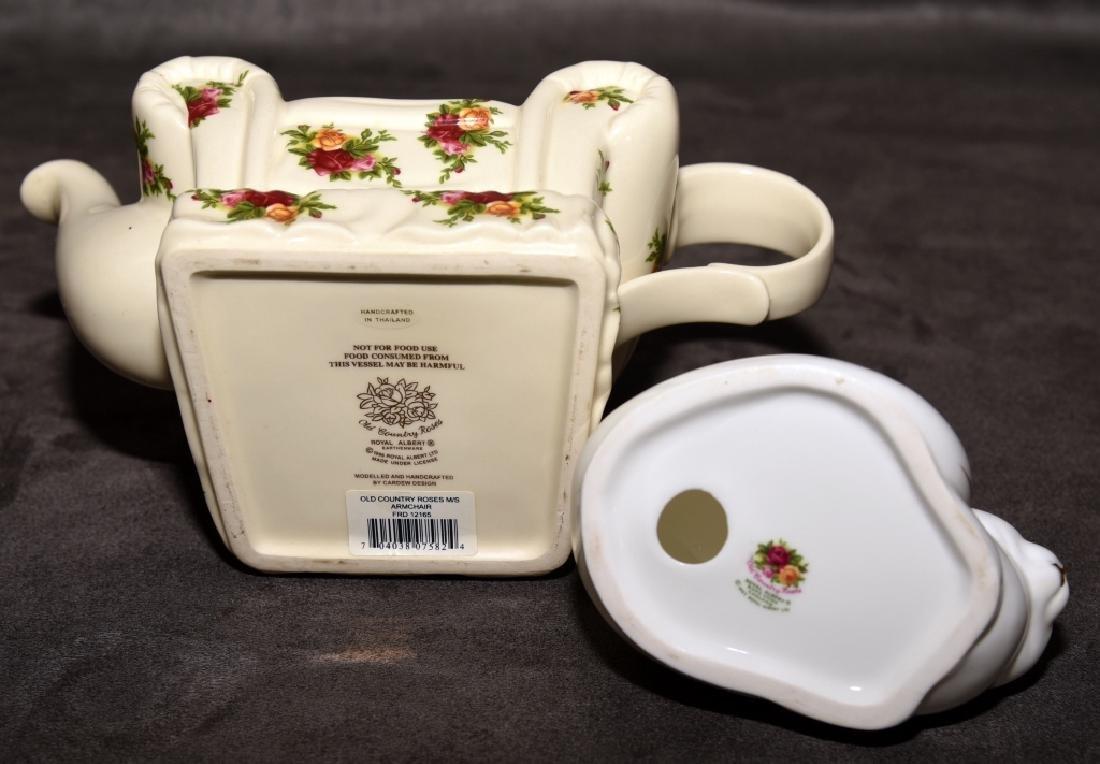 Royal Albert Old Country Roses Miniature Teapot - 4