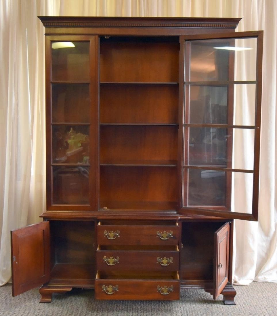 Vintage One Piece China Cabinet - 2