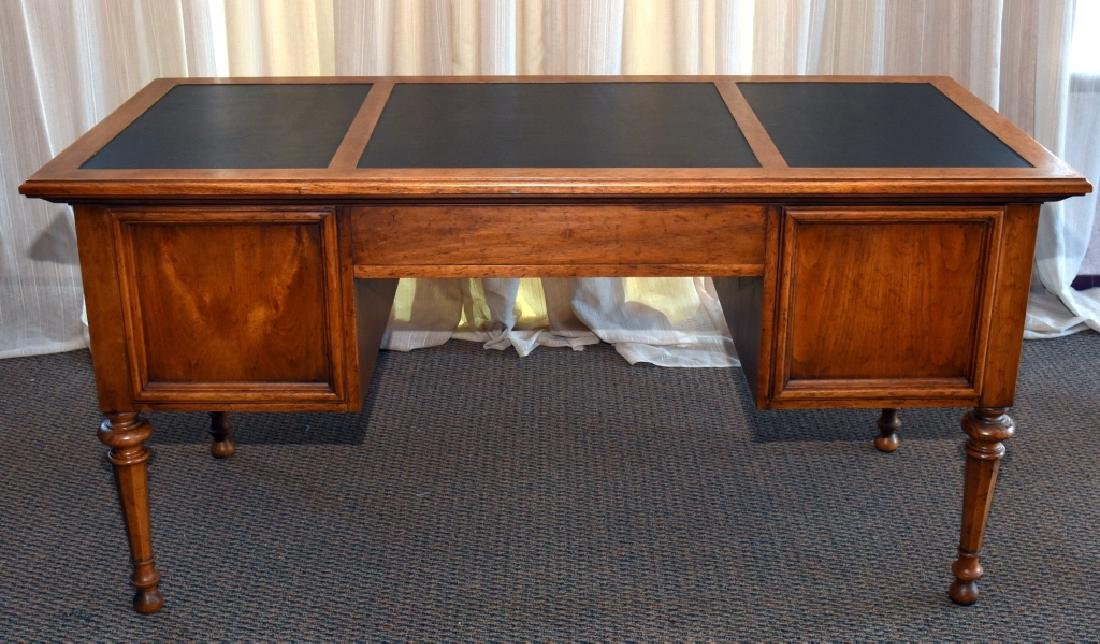 Drexel Leather Top Desk - 2