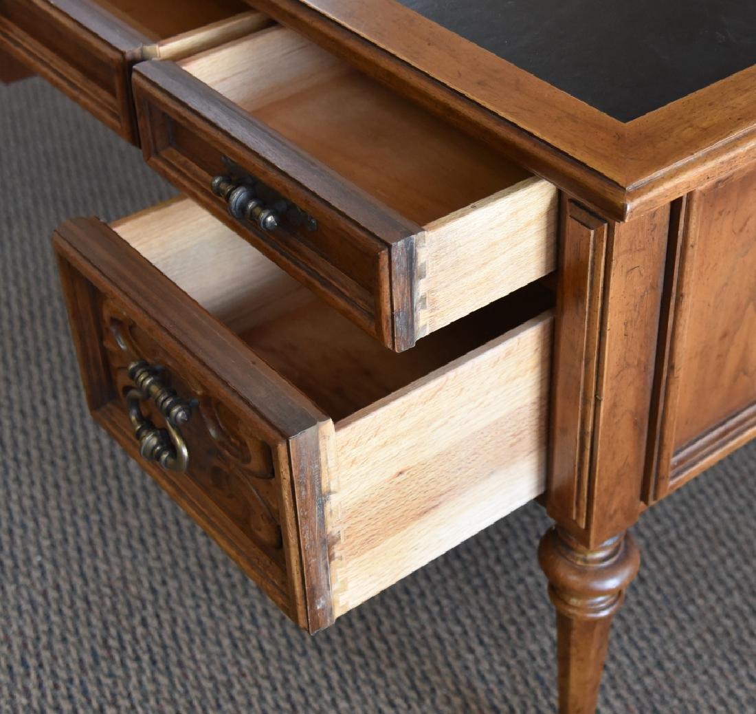 Drexel Leather Top Desk - 4