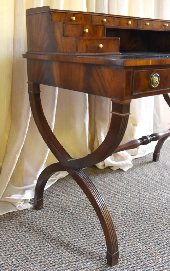 Regency Style Writing Desk - 4