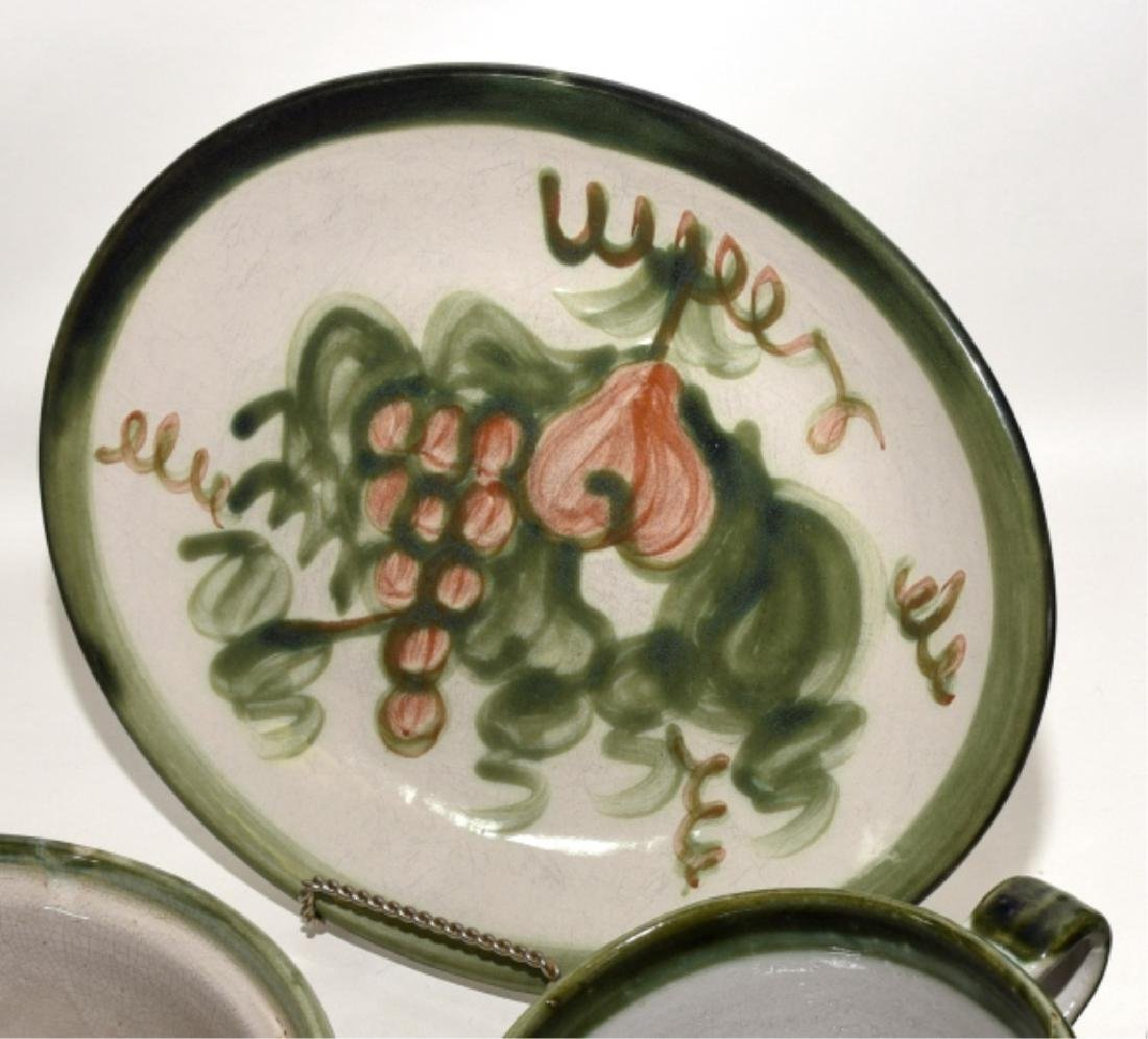 Louisville Stoneware Pear Platters Plus - 3
