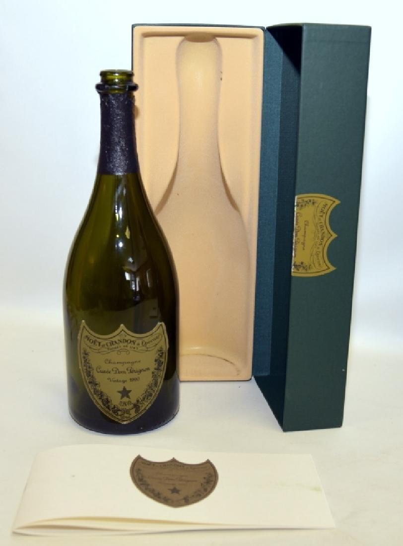 1990 & 1993 Cuvee Dom Perignon Collectible Bottles - 2