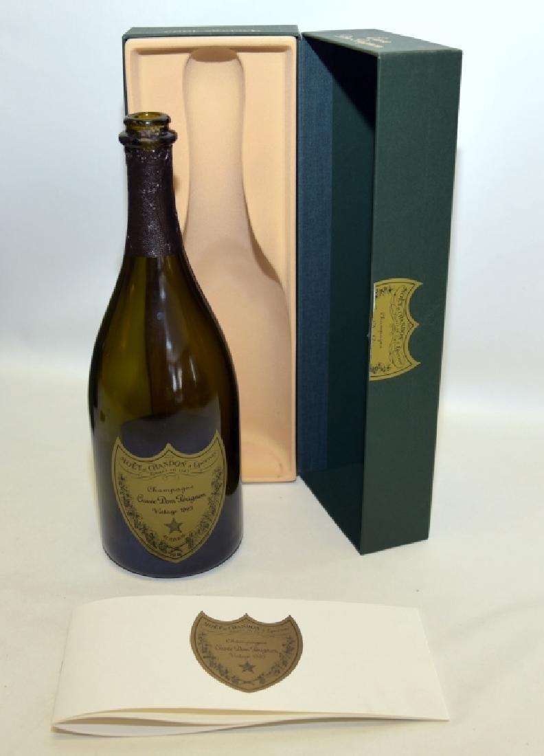 1990 & 1993 Cuvee Dom Perignon Collectible Bottles - 3