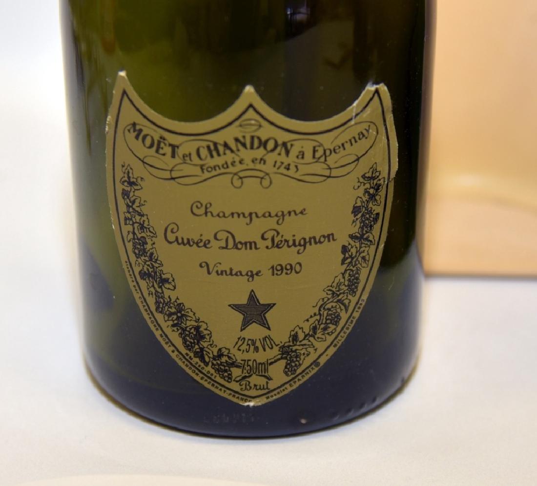 1990 & 1993 Cuvee Dom Perignon Collectible Bottles - 4