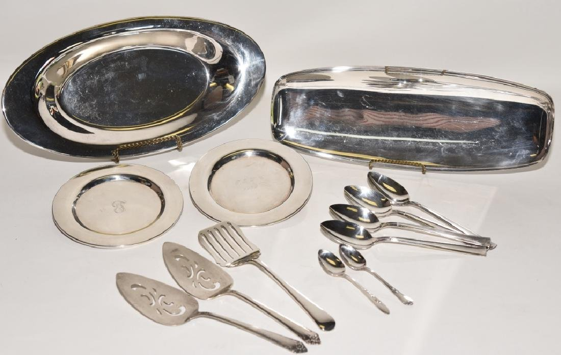 Silverplate Holloware and Flatware